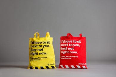 Västtrafik: No Douche Bag, 4 Print Ad by Forsman & Bodenfors, Sweden