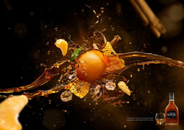 Whyte & Mckay: Collision Print Ad by BJL Manchester