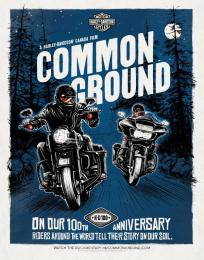 Harley-Davidson: Poster, 5 Print Ad by Zulu Alpha Kilo, Zulubot