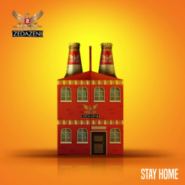 Zedazeni: Stay Home, 2 Print Ad by Bene Creative