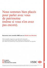 HSBC: HSBC, 5 Print Ad by Saatchi & Saatchi + Duke France
