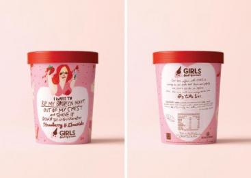 Sky Tv: GIRLS Break Up Ice Cream, 4 Direct marketing by DDB Auckland