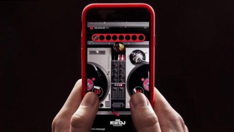 Bacardi: Instant DJ [image] Digital Advert by BBDO New York