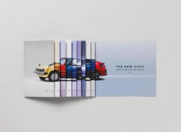 Honda Civic: Change Is Here Print Ad by Karmarama London