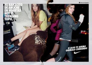 Nike: LITTLE DANCE Print Ad by Villar & Rosas