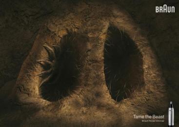 Braun: Spider Print Ad by BBDO Dusseldorf