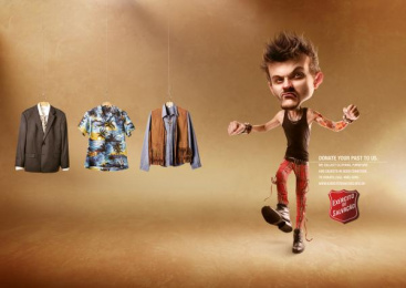 Salvation Army: Hanger- Punk Print Ad by WMcCann Sao Paulo