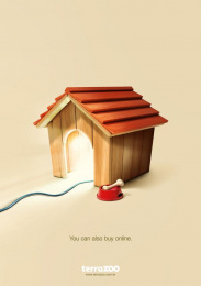 Terra Zoo: Dog Print Ad by Quadrante Advertising