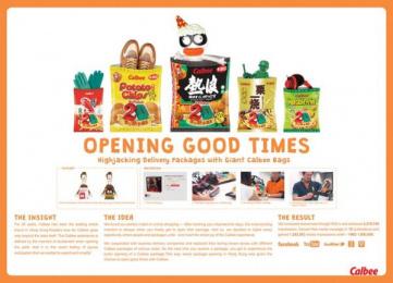 Calbee Foods Co.: Opening Good Times Design & Branding by Leo Burnett Hong Kong