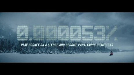Canadian Paralympic Committee: #GreatnessIsRare Para Ice Hockey with Greg Westlake Film by Asymetric, BBDO Toronto