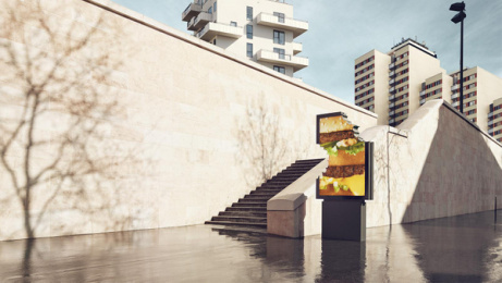 McDonald's: No Logo, 4 Outdoor Advert by TBWA Paris, ELSE Paris