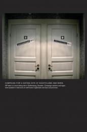 Goteborgs-posten: TOILET DOOR Outdoor Advert by Forsman & Bodenfors Gothenburg