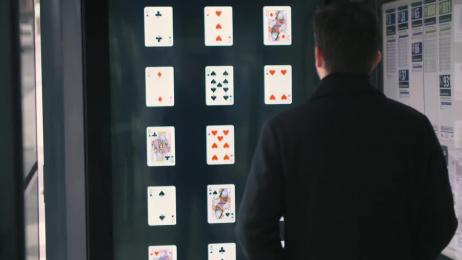 Quebec City Magic Festival: The Mind Reading Billboard Ambient Advert by Lg2 Quebec, Nova Film