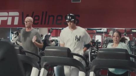 ESPN: Aaron Judge Home Run Trot Film by ESPN International