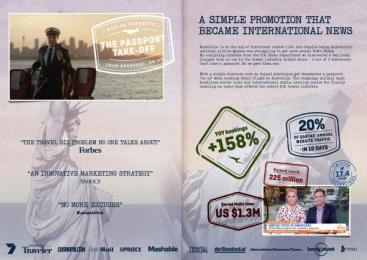 Qantas: Qantas Direct marketing by BWM Dentsu Sydney, Infinity Squared