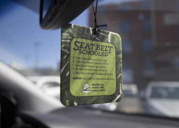 Colorado Department of Transportation (CDOT): Seat Belt Schooled, 3 Direct marketing by Amelie Company Denver
