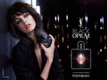 BLACK OPIUM: #YSLBLACKOPIUM [alternative] Print Ad by BETC Luxe