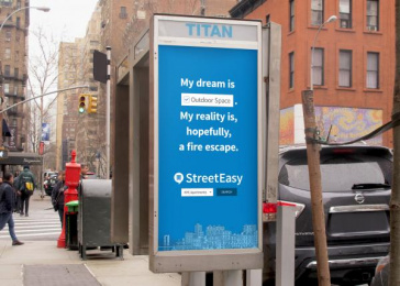 StreetEasy: Find Your Place, 6 Outdoor Advert by Office Of Baby