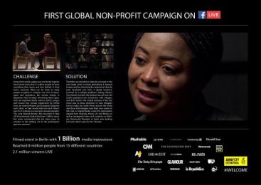 Amnesty International: #Iwelcome - Live [image] Film by DDB Warsaw, Papaya Films
