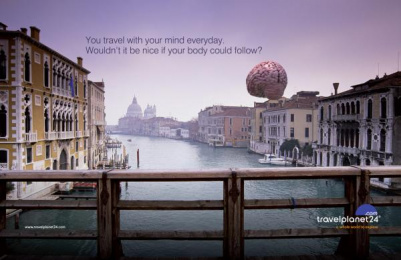 Travel Planet 24: Venice Print Ad by The Syndicate