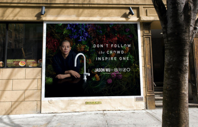 Brizo: Jason Wu for Brizo, 3 Outdoor Advert by Young & Laramore