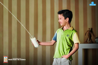 Paras Health: Boy Print Ad by VML Qais Mumbai