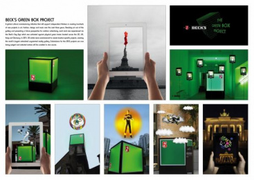 Becks Beer: THE GREEN BOX PROJECT Print Ad by Mother London