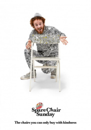 Bisto: Spare Chair Sunday, 1 Print Ad by Craft, McCann London