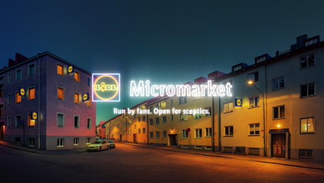 Lidl: Lidl Micromarket, 5 Print Ad by Giants & Toys, Volt