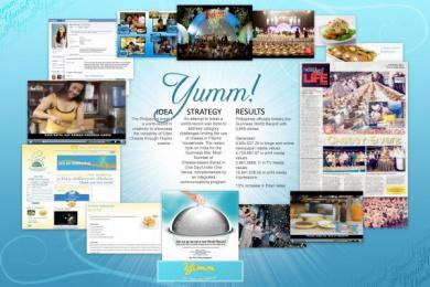 Kraft: YUMM! Promo / PR Ad
