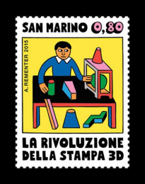 The Republic of San Marino: San Marino Stamps Design & Branding by Andy Rementer