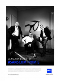Zeiss: Maison Bonnet Print Ad by gyro Paris