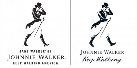 Johnnie Walker Black Label Whisky: Jane Walker Design & Branding by Anomaly New York
