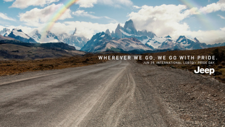 Jeep: Rainbow, 2 Print Ad by Together w/, Buenos Aires, Argentina