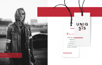 Uniqsis: New Fashion, 4 Digital Advert by THEBADGUYS, İstanbul, Turkey