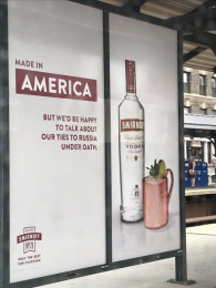 Smirnoff: Ties To Russia Outdoor Advert by 72andsunny