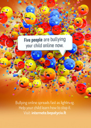 Child Line: The Anti-bullying month Print Ad by ALL CAPS