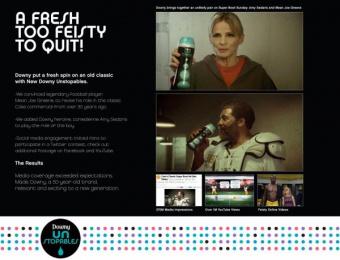 Downy: MEAN JOE GREENE Print Ad by Grey New York
