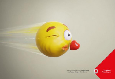 Vodafone: Speed Tears, 3 Print Ad by JWT Albania