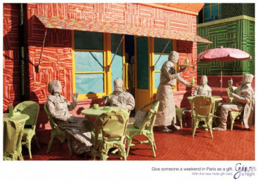 HOTEL GIFTCARD: Paris Print Ad by Lowe@Alfred Amsterdam