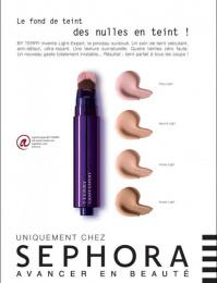 Sephora: Foundation Cream Print Ad by Quelle Belle Journee
