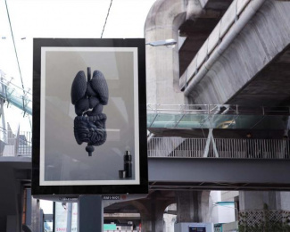 Thermos: Inner warmth - CASHMERE [billboard] Outdoor Advert by Ogilvy & Mather Bangkok
