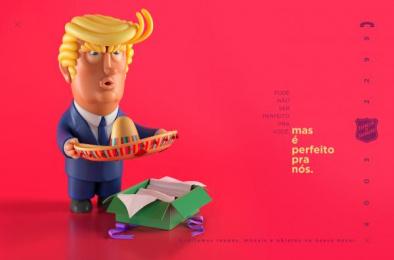 Salvation Army: Trump Print Ad by CINE CINEMATOGRAFICA, WMcCann Brazil