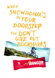 Bangor University: Bookmarks Print Ad by Cheetham Bell J. Walter Thompson UK