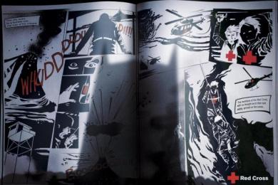 Chilean Red Cross: BATMAN Print Ad by J. Walter Thompson Santiago