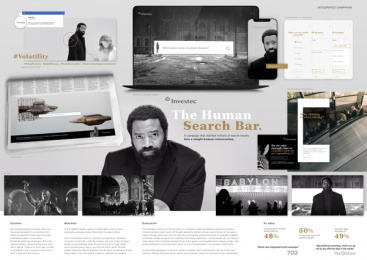 Investec: The Human Search Bar, 6 Print Ad by Ogilvy Johannesburg
