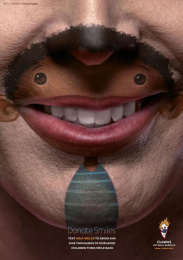 Clowns Without Borders: Donate smiles, 2 Print Ad by J. Walter Thompson Barcelona