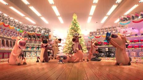 Toys R Us: Geoffrey the Part Time Reindeer Film by Akama Studio, The Corner London