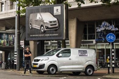 Peugeot: Metalwork Outdoor Advert by Havas Boondoggle Amsterdam