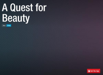 Van Cleef & Arpels: Flipboard - A Quest for Beauty Digital Advert by SAME SAME BUT DIFFERENT